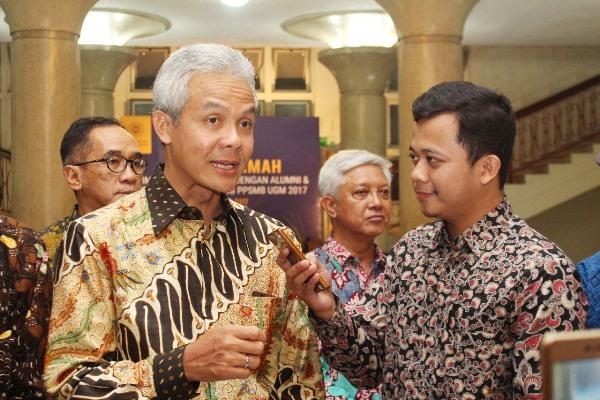 Ganjar Pranowo, Kubu 02 di Jateng, Prabowo, Gubernur Jateng