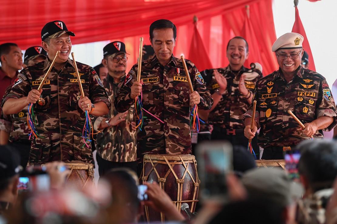 Jokowi: Ideologi Impor Jangan Sampai Menggeser Nilai-nilai Berbangsa