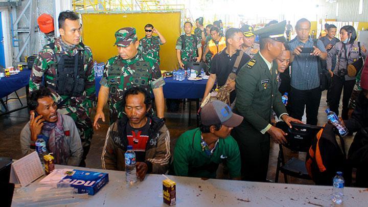 korban selamat penembakan papua, istaka karya