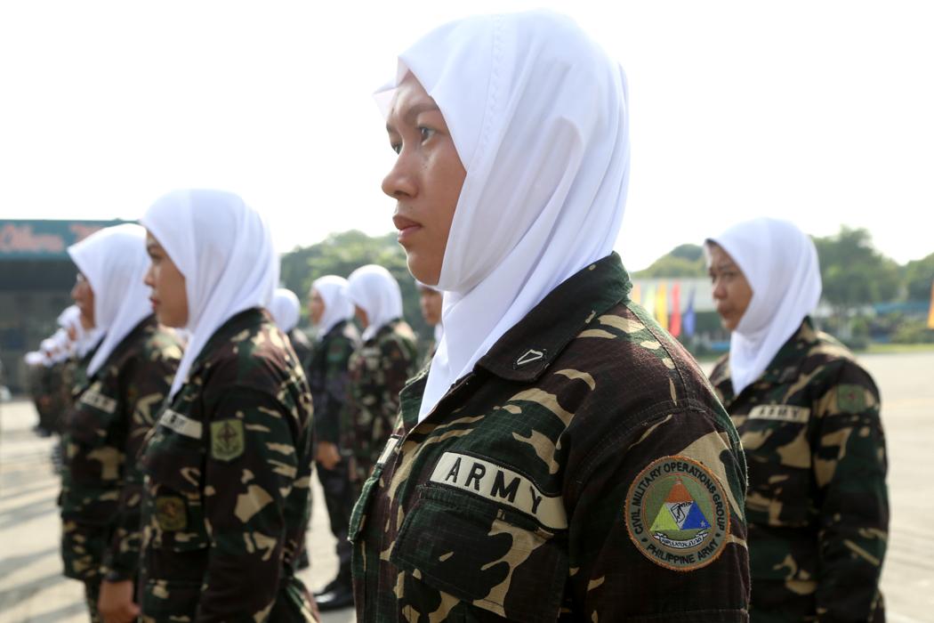 Militer Filipina Memperbolehkan Pasukan Wanitanya Berhijab