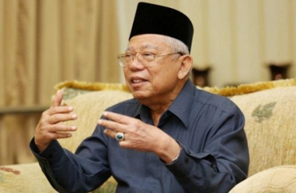 Komentari Pernyataan Prabowo, Ma'ruf Amin: Indonesia Bukan Hewan Purba yang Bisa Punah
