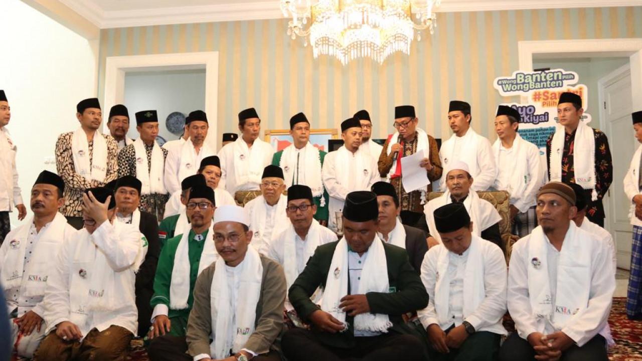 Kompak Ulama Tangerang Selatan Dukung Ma'ruf Amin