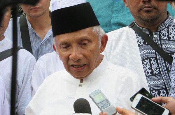 Tuding Jokowi Otoriter, TKN: Amien Rais Oposisi Kekanak-kanakan, Harusnya Bercermin