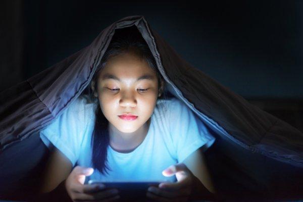 Ilustrasi permainan digital digandrungi anak-anak