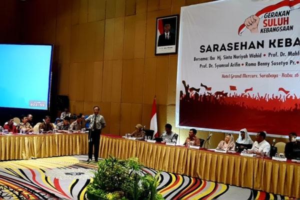 Mahfud MD Ingatkan Jaga Persatuan Meski Beda Pilihan di Pilpres