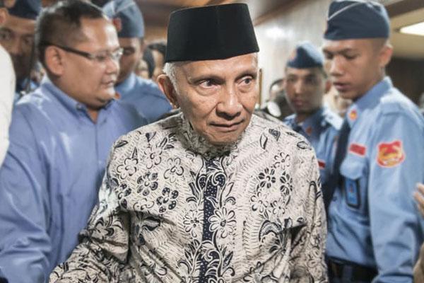 TKN Jokowi: Ancaman Amien Rais Arogan dan Berpotensi Mengacau Pemilu