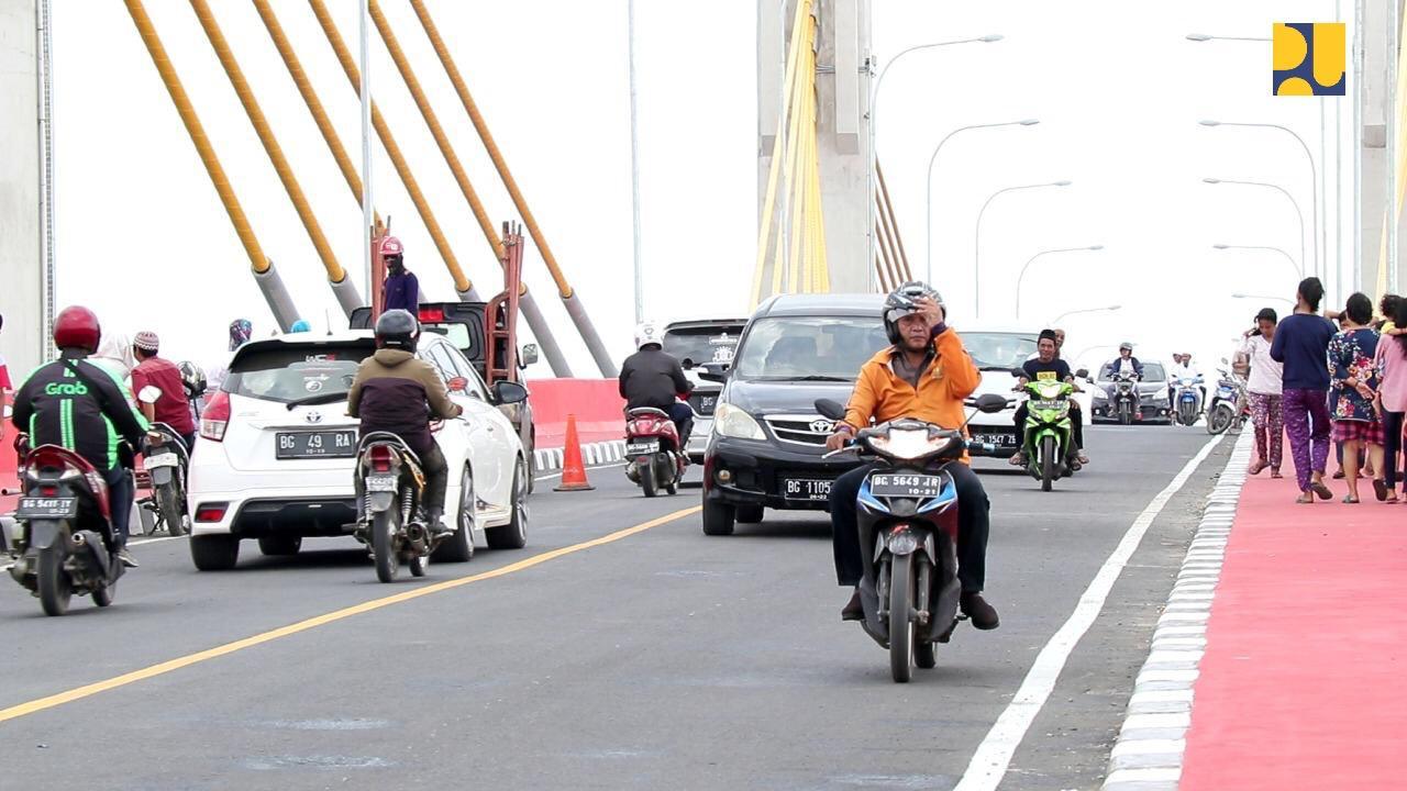 Dibangun dengan Dana SBSN, Jembatan Musi 4 Kini Sudah Bisa Dilalui