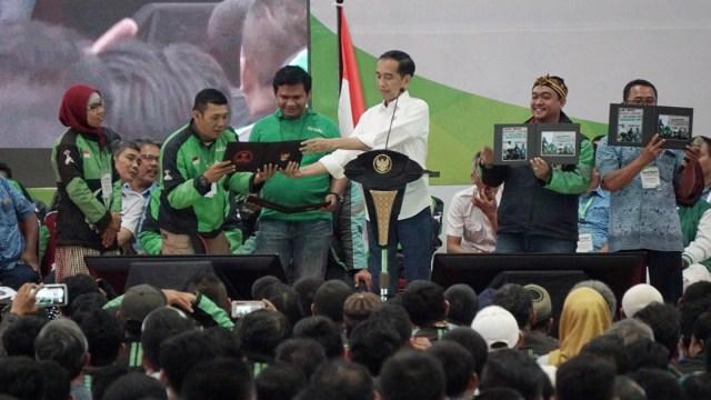 Jokowi Kerap Marah Jika Ada yang Meremehkan Ojek Online
