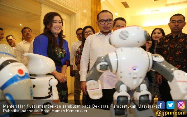 Komunitas Masyarakat Robotik Pertama di Indonesia