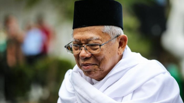 Ma'ruf Amin Berharap Debat Pilpres Tidak Menyudutkan Paslon