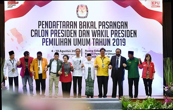 Jelang Debat Pilpres, Jokowi Bertemu Pimpinan Parpol Koalisi