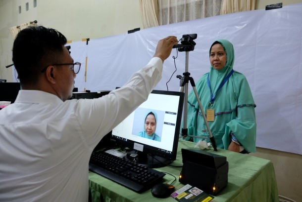 VFS Tasheel, Perekaman Biometrik