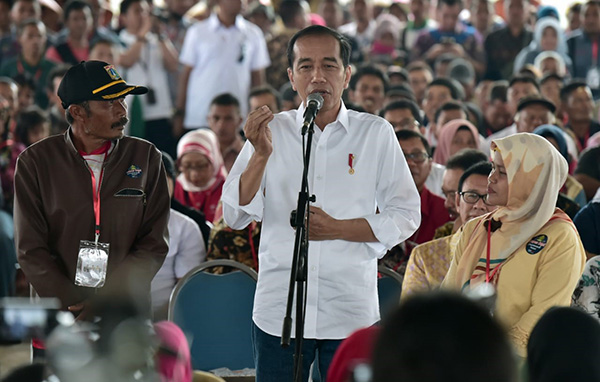 Jokowi, hari santri