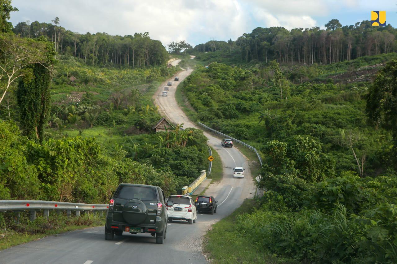 Kementerian PUPR Tingkatkan Konektivitas Pulau Terdepan di Maluku Tenggara Barat