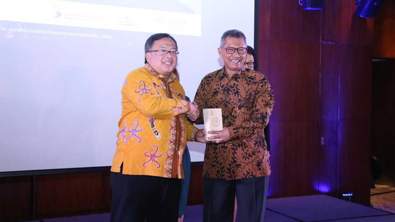 Pertamina Raih Tiga Penghargaan dalam Sustainable Business Awards Indonesia 2018