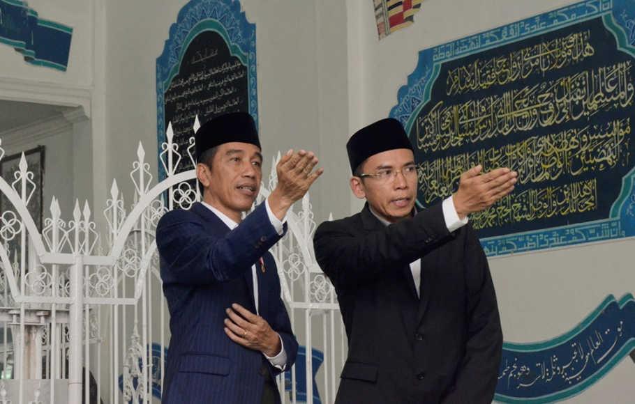 TGB: Jokowi Pemimpin yang Paling Banyak Difitnah, Tapi Tetap Tulus Bekerja