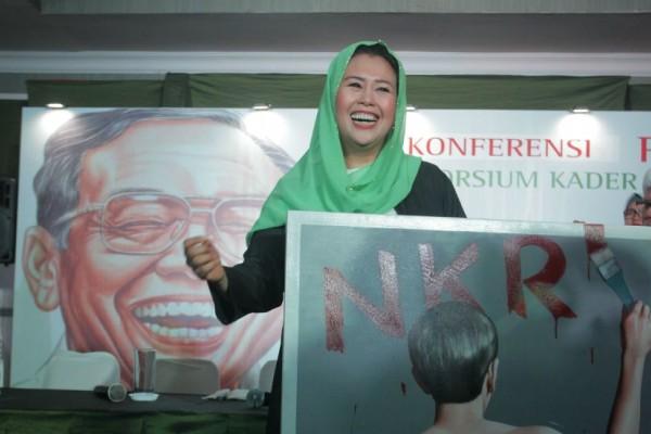 Yenny Wahid: Ada Peningkatan Suara Jokowi-Maruf di Jabar dan Jatim