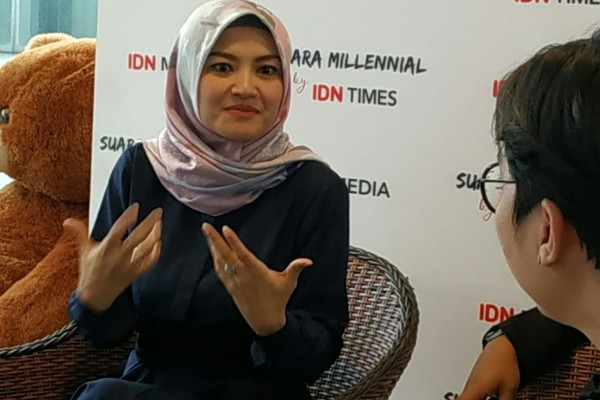 Hadapi Debat Pertama Pilpres, Tina Talisa Siapkan Dua Hal untuk Jokowi-Maruf