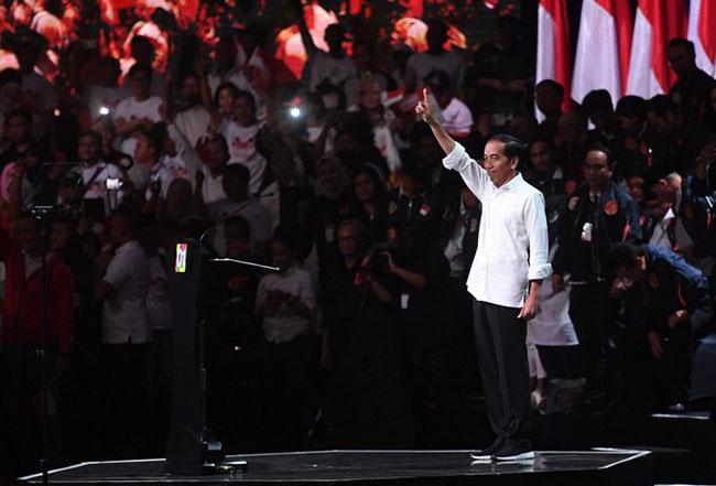 Konsesi Lahan, Orasi Politik, Jokowi-maruf, program konkret, prabowo-sandi, Pilpres 2019, Indo Barometer