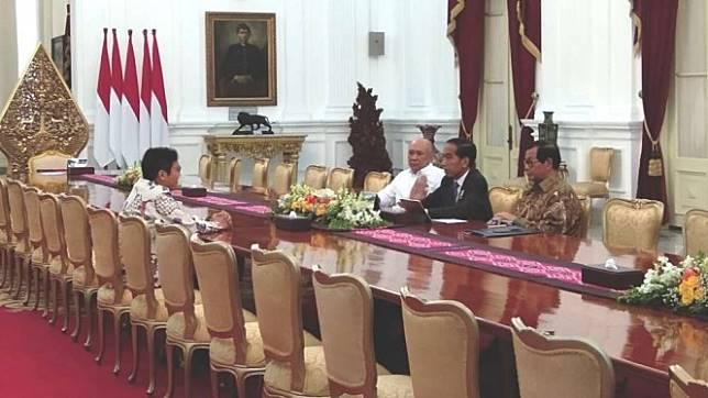Bos Bukalapak, Jokowi
