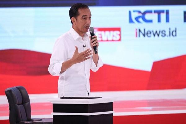 prabowo tak berkutik, Pelaporan BPN, Jokowi