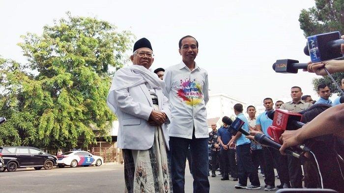 ma'ruf PKS PAN untuk Jokowi, kiai dan ulama pasundan, kiai maruf, 4 daerah jatim, jokowi-maruf