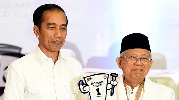 ojolali, debat pertama, jokowi-maruf, survei crc