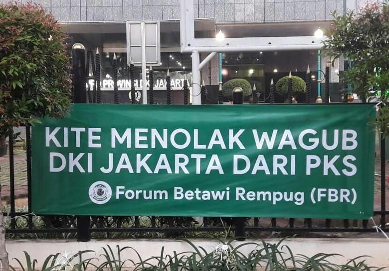 FBR Tolak Cawagub dari PKS, Jakarta