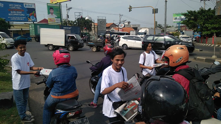 Aksi Canvassing KAPT Jateng