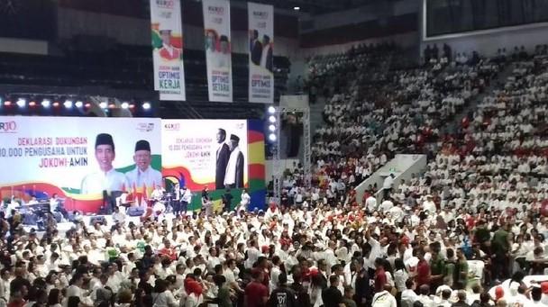 Deklarasi Dukung Jokowi-Maruf Amin, Kadin