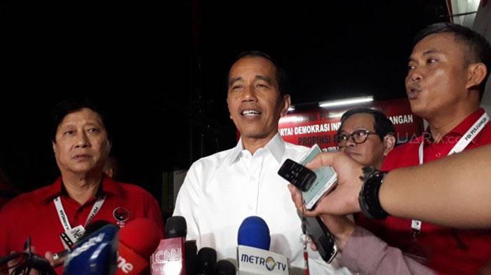 Jokowi, Litbang Kompas
