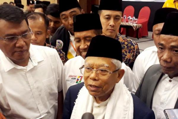 Hidayatullah, Kiai Maruf Amin, dewasa berdemokrasi