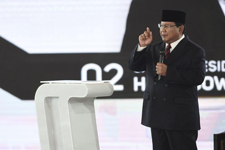 Prabowo tak suka teknologi cepat