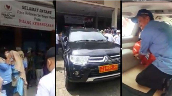 viral mobil tni di acara prabowo-sandi, plat nomor