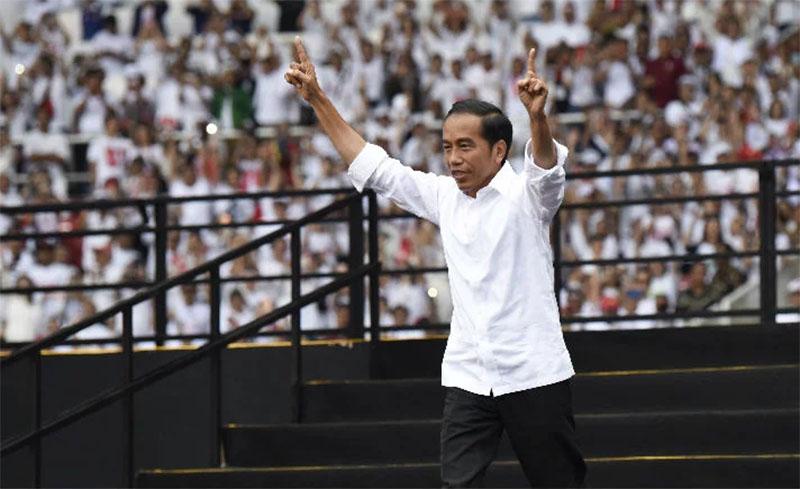 Jokowi-Maruf, menang tebal, jawa timur, jawa tengah, suara di 35 kabupaten