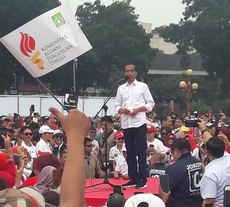 KAPT, Jokowi-Maruf, Maklumat, menang telak
