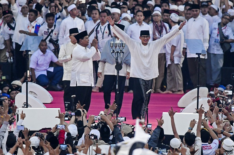Kekhawatiran SBY, Kampanye Akbar Prabowo