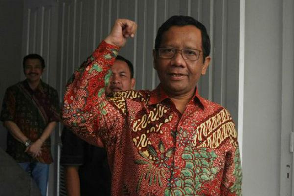 Mahfud MD, Dukung KPU