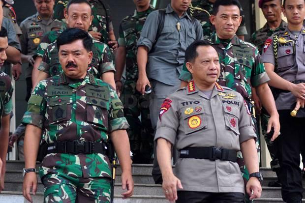 keamanan, kerawanan, Pemilu 2019, TNI