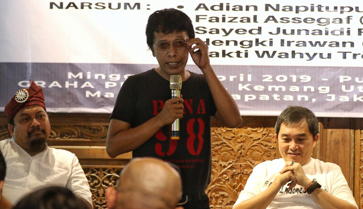 Aktivis 98, Kawal Jokowi