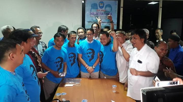 Sandiaga Akui Pemilu 2019