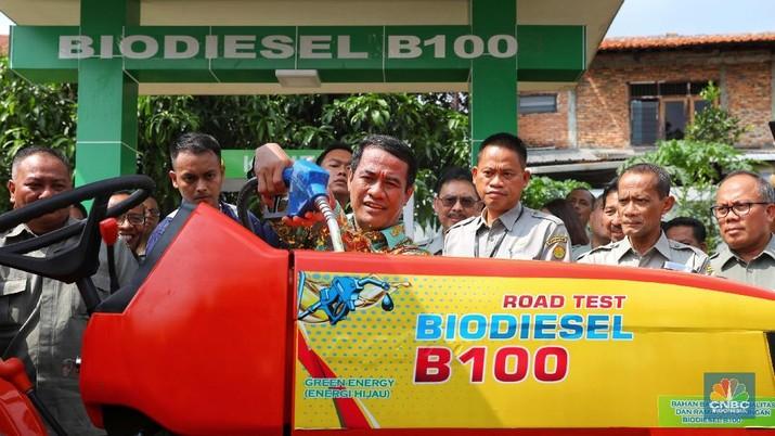 Uji Coba Perdana B100