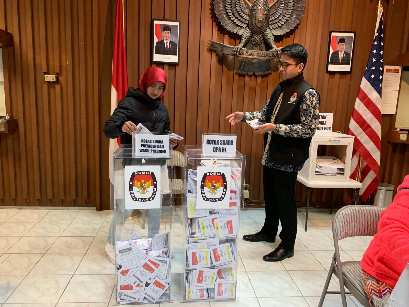 warga indonesia san francisco gunakan hak pilih di pemilu 2019