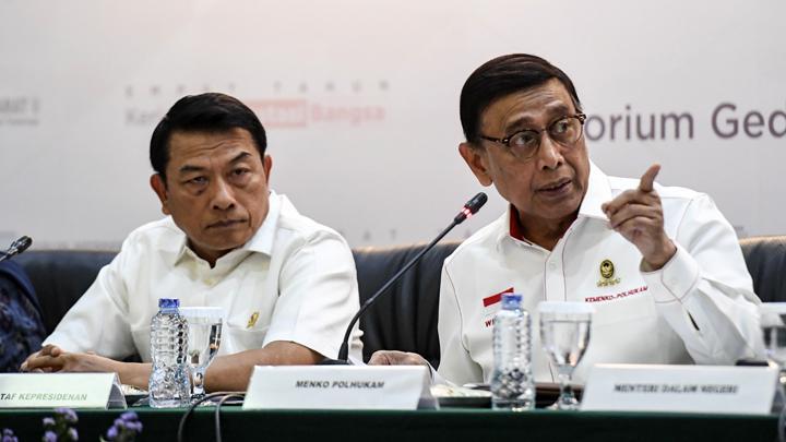 Pelaksanaan Pemilu 2019, wiranto, dalang rencana pembunuhan