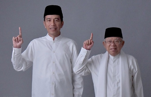 Survei Cyrus Network, Elektabilitas Jokowi-Maruf Unggul, Survei LSI, Optimis Jokowi Menang Pilpres