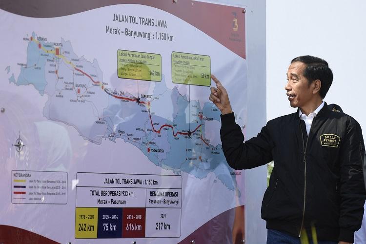 probolinggo, Presiden, Jokowi, Resmikan, tol