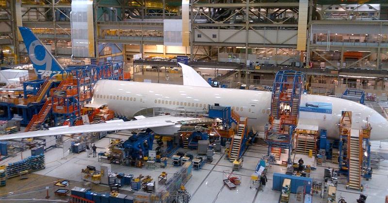 proses manufaktur boeing 787 dreamliner bermasalah