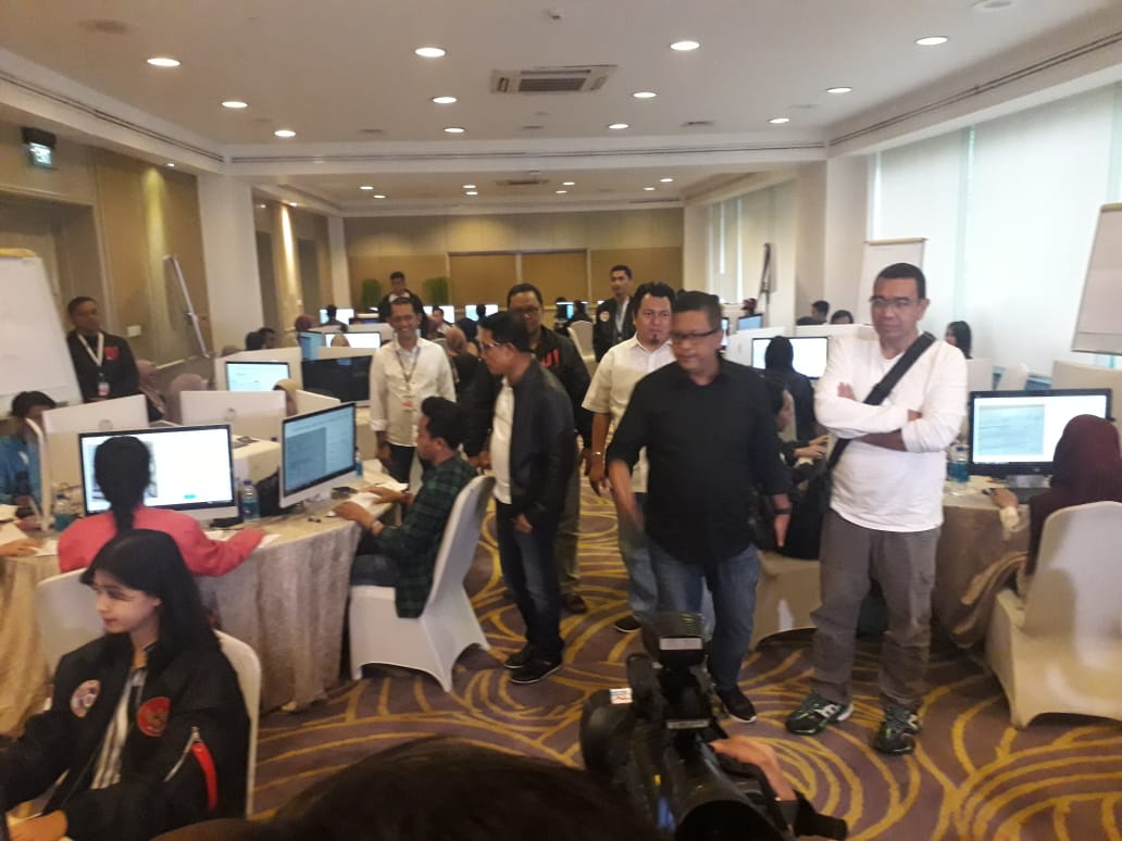 war room, kejanggalan data, TKN, Prabowo