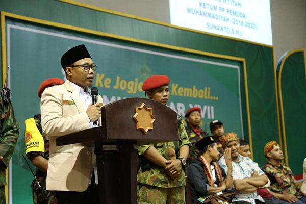 Ketum PP Pemuda Muhammadiyah Sunanto
