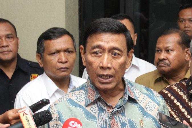 Kerap Menghasut, Wiranto, Menolak Hasil Pemilu
